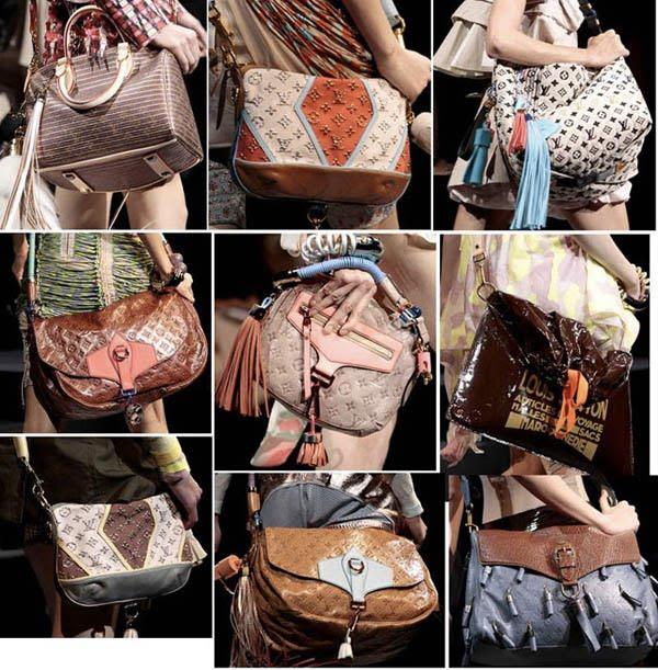 По форме модные сумки также весьма разнообразны.